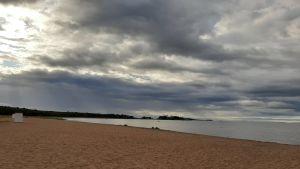 Bellevue stranden i Hangö
