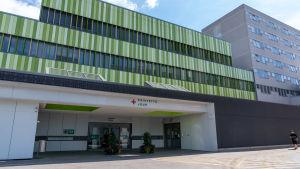 Jorvin sairaalan päivystyspoliklinikka ulkoa