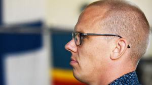 Robert Helenius manager Markus Sundman i profil.