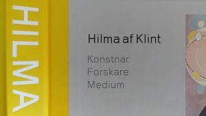 detalj från pärmen till Moderna museets bok om Hilma af Klint.