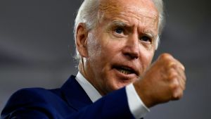 Demokraternas presidentvalskandidat Joe Biden.