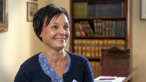 Sjukskötare Sandra Alldén