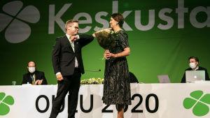 Riikka Pirkkalainen valittiin puoluesihteeriksi.