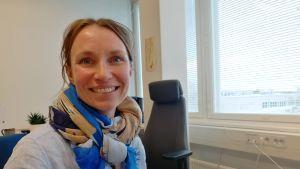 Forskare Anne Muola vid Åbo universitet.