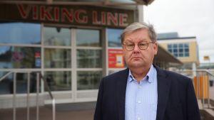 Viking Linen toimitusjohtaja Jan Hanses