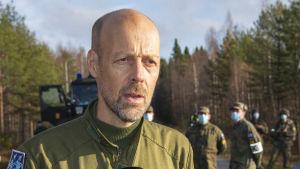 Erik Stålhandske, Ruotsin harjoitusjoukkojen päällikkö? Ruska 2020