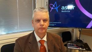 Aster Bothnia projektets tekniska chef Tuomo Iso-Aho i Vasa.