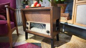 En gammal radio.