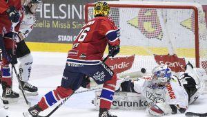 Jere Sallinen gör 2-0 till HIFK