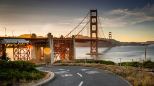 Golden gate -silta San Fransiscossa.
