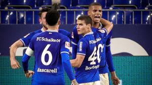 Malick Thiaw gjorde sitt första mål i Bundesliga.