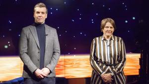 Daniel Olin med Heidi Hautala