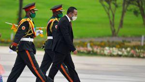 Etiopiens premiärminister, fredspristagaren Abiy Ahmed beordrade armén förra veckan att gå till attack i Tigray.