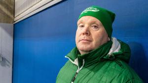 Johan Lönnqvist i Akilles gröna färger.