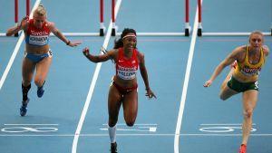 Brianna Rollins knep guldet på 100 meter häck i Moskva