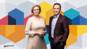 Seija Vaaherkumpu ja Antti Sahlström