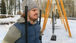 Akseli Vidgren, student från Kangasniemen lukio våren 2019.
