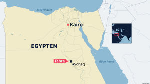 Olyckan inträffade i närheten av staden Tahta.