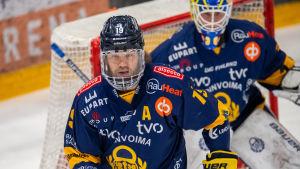 Robin Press och Lassi Lehtinen finns i Yle Sportens All Star-lag.