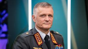 Försvarsmaktens kommendör Timo Kivinen.