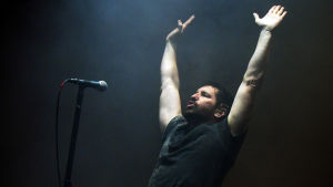 Muusikko Trent Reznor Nine Inch Nails -yhtyeestä