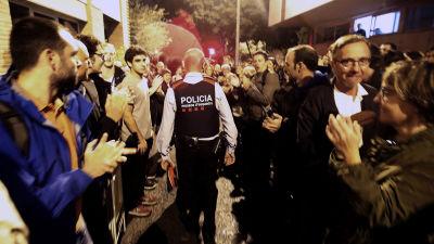 Kanslostarkt nar katalanskt styre svors in