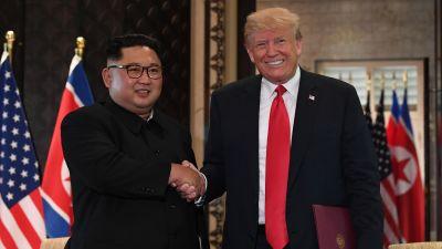 Har firar nordkorea sin kare ledare