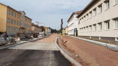 Staden vill bygga vid vikingterminalen 3