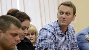 Aleksej Navalnyj i rätten