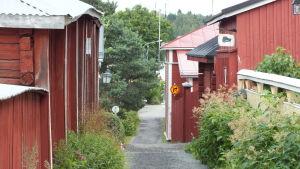 Kattpsikargränden i Kristinestad