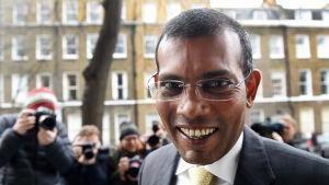 Maldivernas förra president Mohamed Nasheed