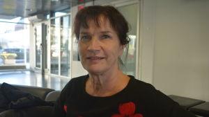 Tuija Arvo är översköterska vid Helsingfors stad med ansvar för rehabilitering och fysioterapi
