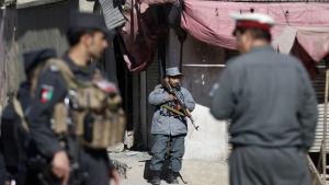 Attacken mot nyhetsbyrån Afghan Voice var den andra inom en månad mot en afghansk nyhetsorganisation
