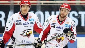 Olavi Vauhkonen och Michael Parks.