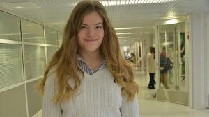 Niondeklassare i Borgaregatans skola i Vasa