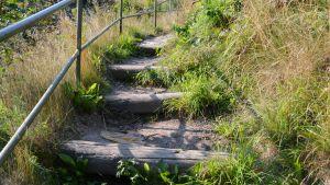 trappor vid Mannerheimgatans bro