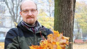 Bernt Nordman, verksamhetsledare för miljöorganisationen Natur och Miljö.