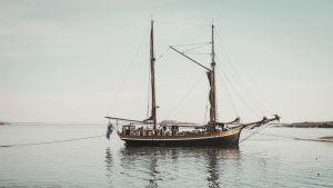 Kaljaasi Olga Dalskär-saaren rannassa, Saaristomerellä.