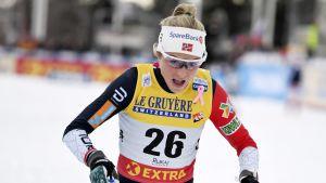 Therese Johaug i Ruka