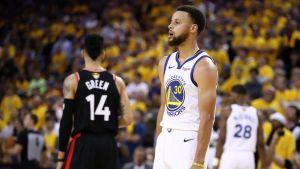 Stephen Curry glänste i finalen mot Toronto Raptors.