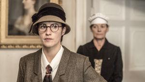 Brittielokuva tulkitsee kirjailija Agatha Christien katoamista.