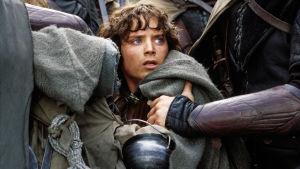 Frodo (Elijah Wood) elokuvassa Taru sormusten herrasta: Kaksi tornia.