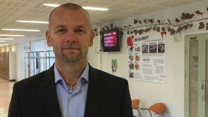 Läroavtalsplaneraren Anders Levin vid yrkesskolan Axxell i Pargas.