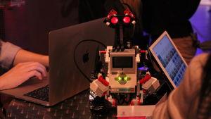 Robot på Slush 2017.