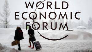 Det världsekonomiska forumet WEF i Davos.