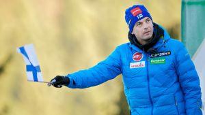Andreas Mitter är backhoppningstränare.
