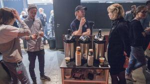 Kaffefestival på Kabelfabriken.