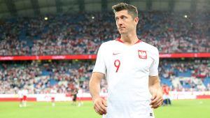 Polen behöver mål av Robert Lewandowski.