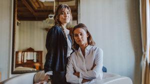 Lisa Langseth och Alicia Vikander.