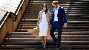 Hertigen och hertiginnan av Sussex på statsbesök i Australien.